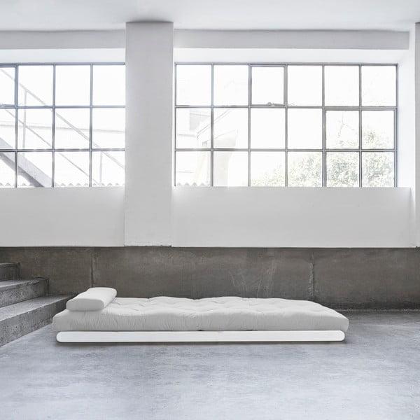 Dvoumístná variabilní lenoška Karup Figo White/Light Grey