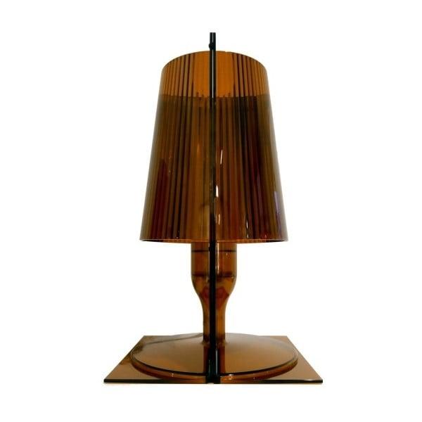 Hnědá stolní lampa Kartell Take