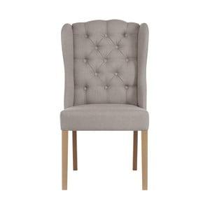 Šedohnědá židle Jalouse Maison Hailey