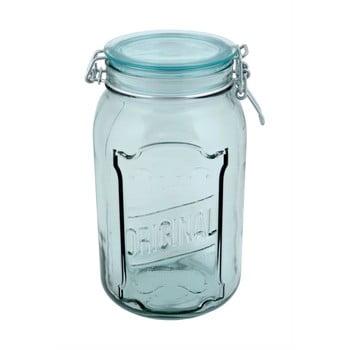 Borcan din sticlă reciclată cu închidere ermetică Ego Dekor Original, 1,9 l poza