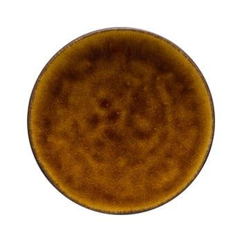 Farfurie din gresie ceramică Costa Nova Roda, ⌀ 16 cm, maro