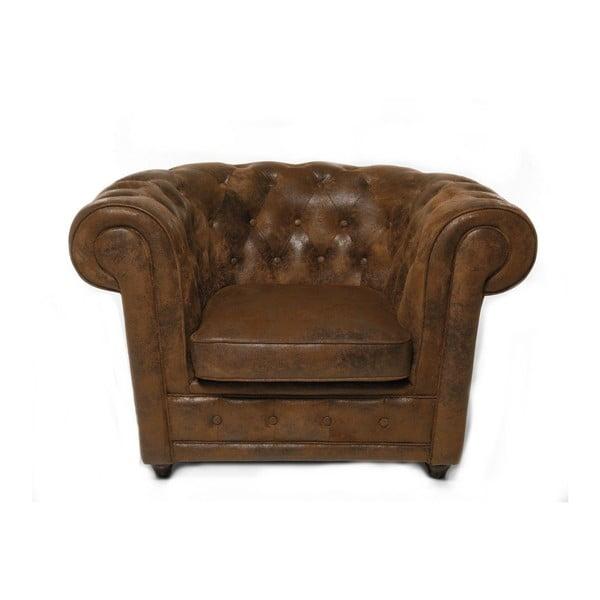 Oxford sötétbarna fotel - Kare Design