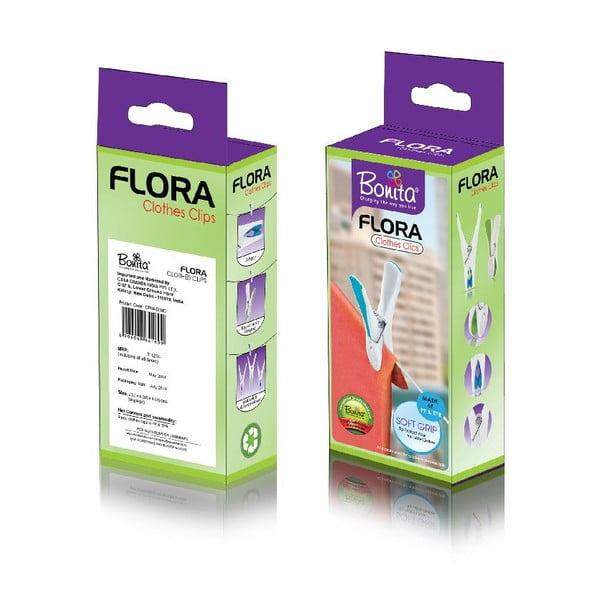 Sada 24 kolíčků na prádlo Bonita Flora