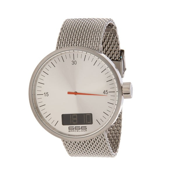 Pánské hodinky Mesh Under Pressure White