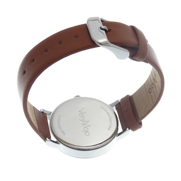 Hnědé hodinky VeryMojo Glamour Time