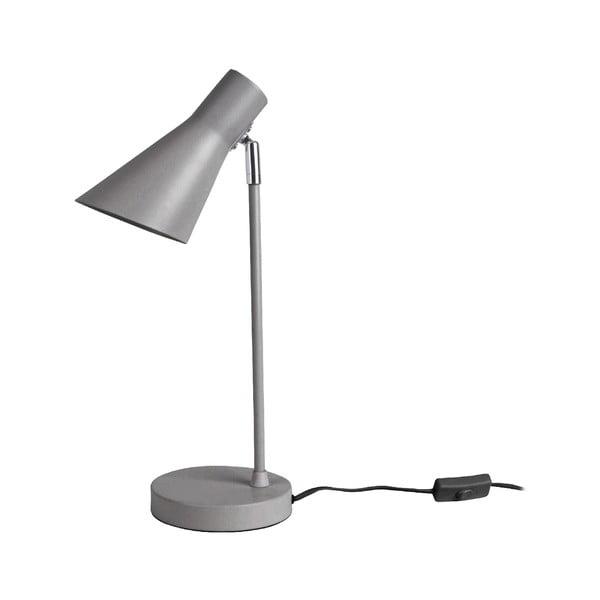 Šedá stolní lampa Leitmotiv Beaufort