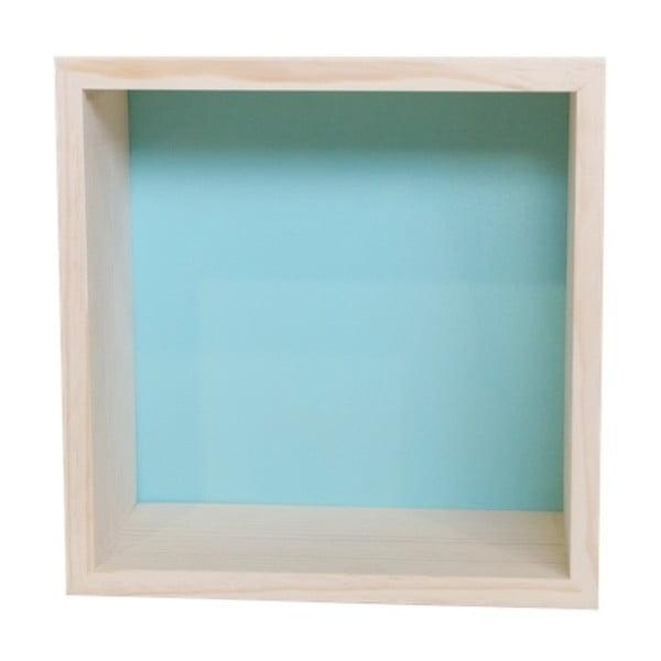 Dekorace Cubo Nordic Aqua M