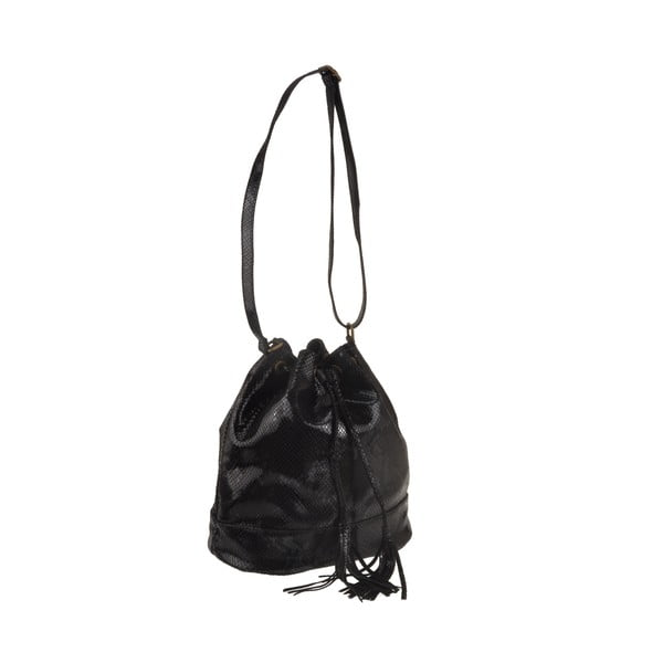 Kožená kabelka Zosca, černá