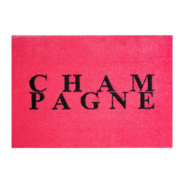 Růžová rohožka Mint Rugs StateMat Champagne, 50 x 75 cm