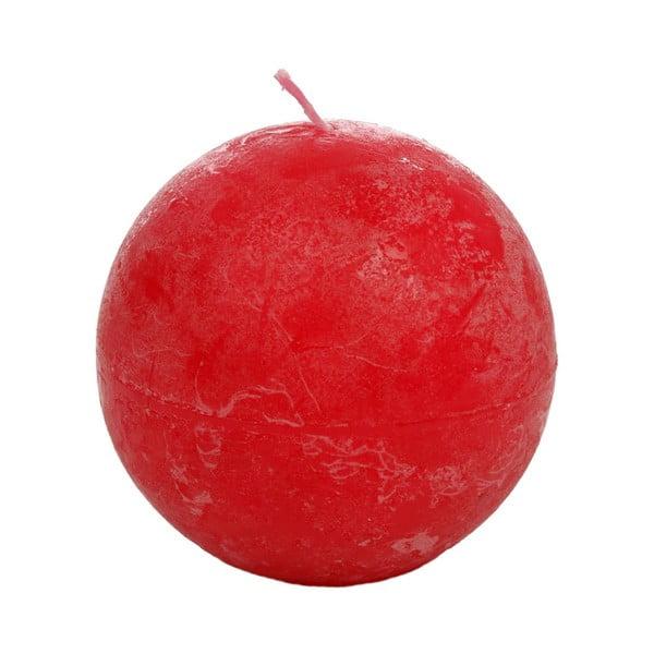 Czerwona świeczka J-Line Fuchsia
