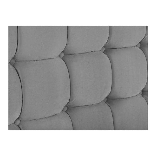 Tăblie pat Kooko Home Hasso, 120 x 180 cm, gri