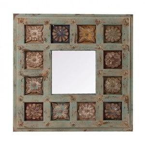 Nástěnné zrcadlo s rámem z jedlového dřeva VICAL HOME Dewi