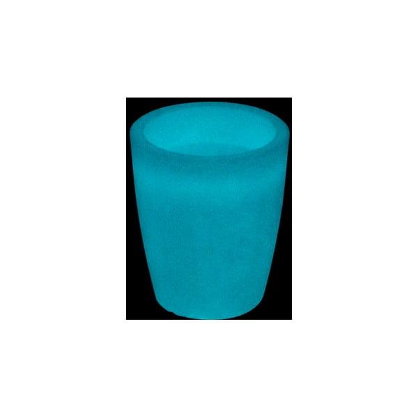 Fluorescenční váza Orchidea 20 cm, bílá