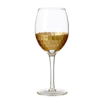 Set 4 pahare din sticlă suflată manual Premier Housewares Astrid, 3 dl