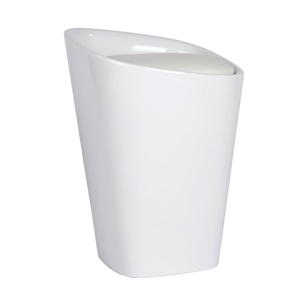 Bílý koš na prádlo a taburetka v jednom Wenko Candy, 20l