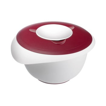 Bol pentru amestecat aluatul Westmark Whisk Bowl, 2.5 l, roșu de la Westmark