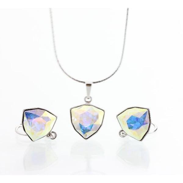 Set náhrdelníku a náušnic Laura Bruni Geometric Multi