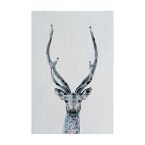 Obraz Marmont Hill Long Horns, 45x30cm