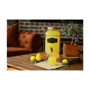 Skleněná stáčecí nádoba na limonádu Bambum, 3 l