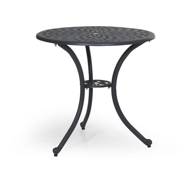 Šedý zahradní stolek Brafab Arras, ∅70cm