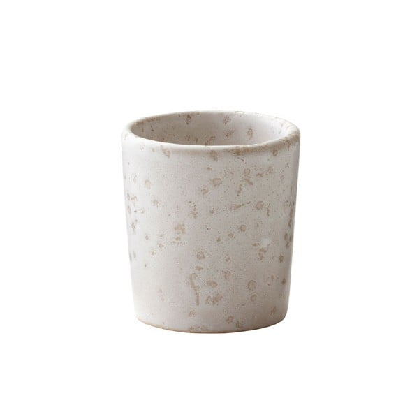 Basics Matte Cream krémszínű agyagkerámia tojástartó - Bitz