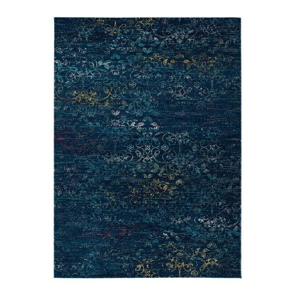 Covor adecvat și pentru exterior Universal Betty Blue, 80 x 150 cm, albastru