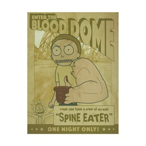 Obraz Pyramid International Rick and Morty Enter The Blood Dome, 60 x 80 cm