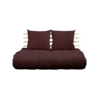 Canapea extensibilă Karup Shin Sano Natur/Brown