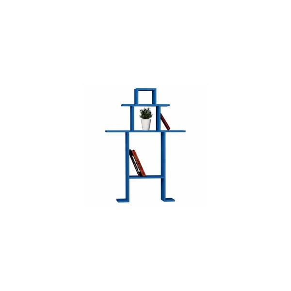Knižní police Omino, modrá