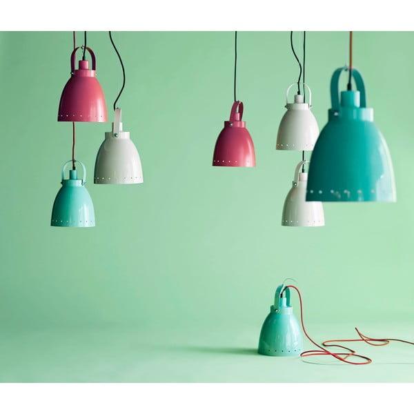 Světle růžová závěsná lampa Done by Deer