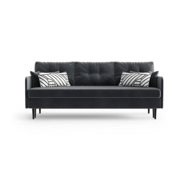 Memphis Anthracite antracitszürke háromszemélyes kinyitható kanapé - Daniel Hechter Home