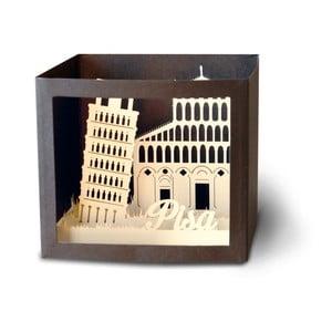 3D pohlednice W-Lamp Pisa