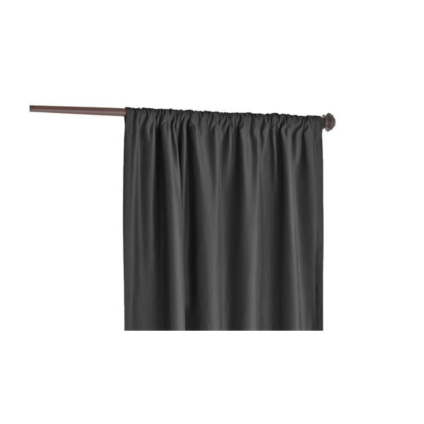 Antracytowa zasłona Home De Bleu Blackout Curtain, 140x240 cm