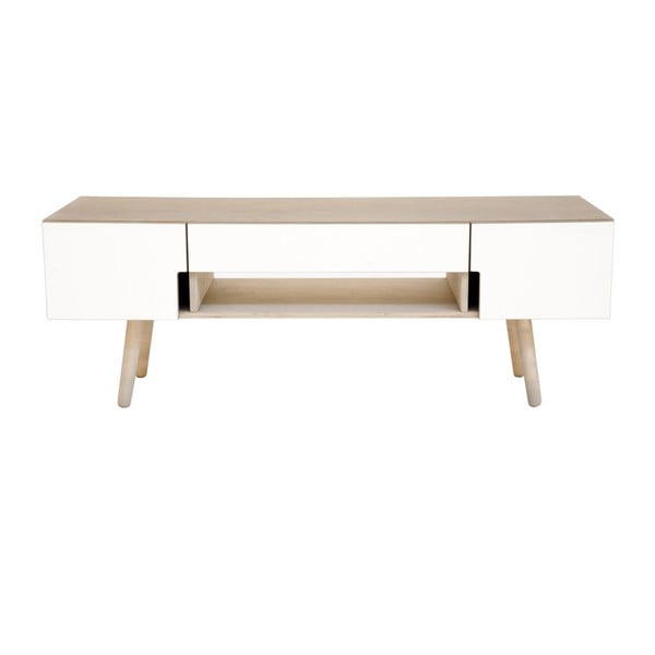 Televizní stolek s hnědým korpusem Radis Man