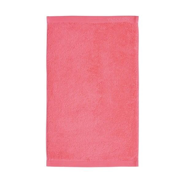 Růžový ručník z egyptské bavlny Aquanova London, 30x 50cm