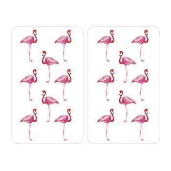 Protecție din sticlă pentru aragaz Wenko Flamingo, 2 buc. de la Wenko