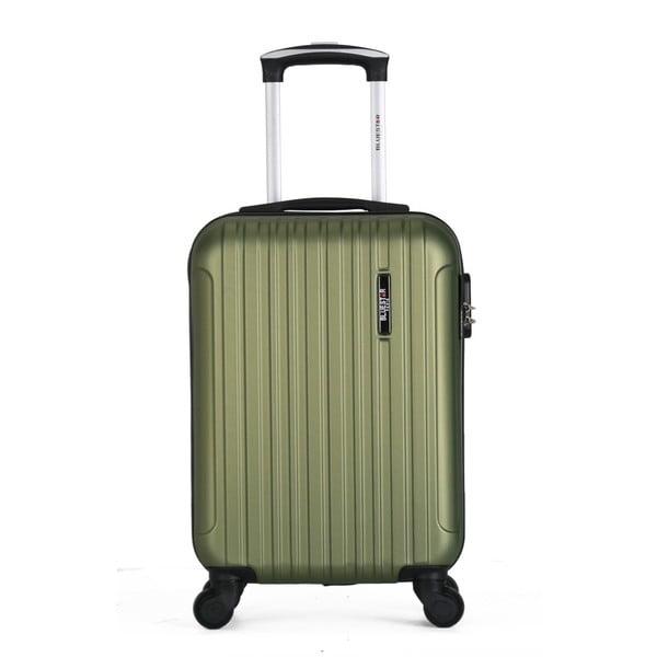 Zelený cestovný kufor na kolieskach Bluestar Margo, 37 l