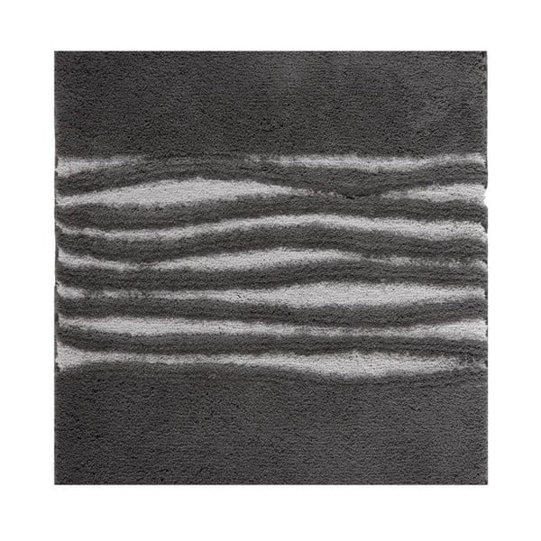 Koupelnová předložka Morgan Dark Grey, 60x60 cm