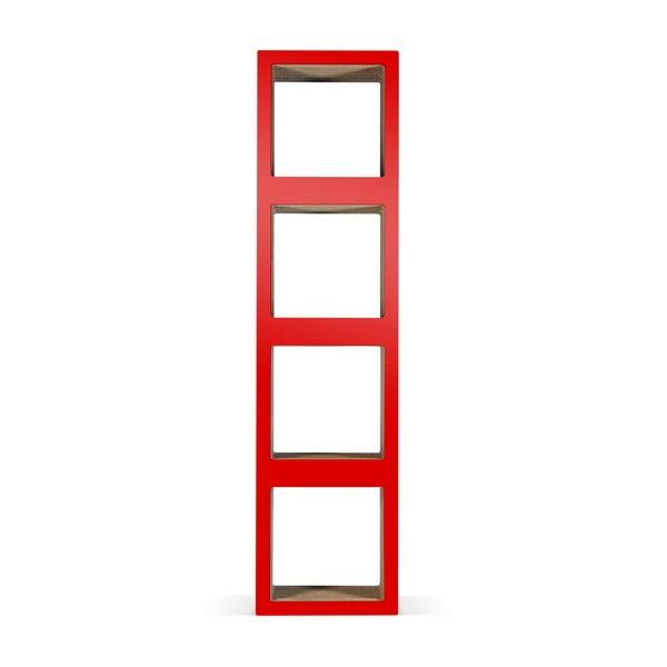 Kartonová knihovna Bit Quattro Red