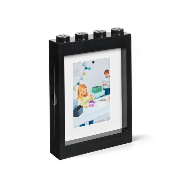 Černý rámeček na fotku LEGO®, 19,3x4,7 cm