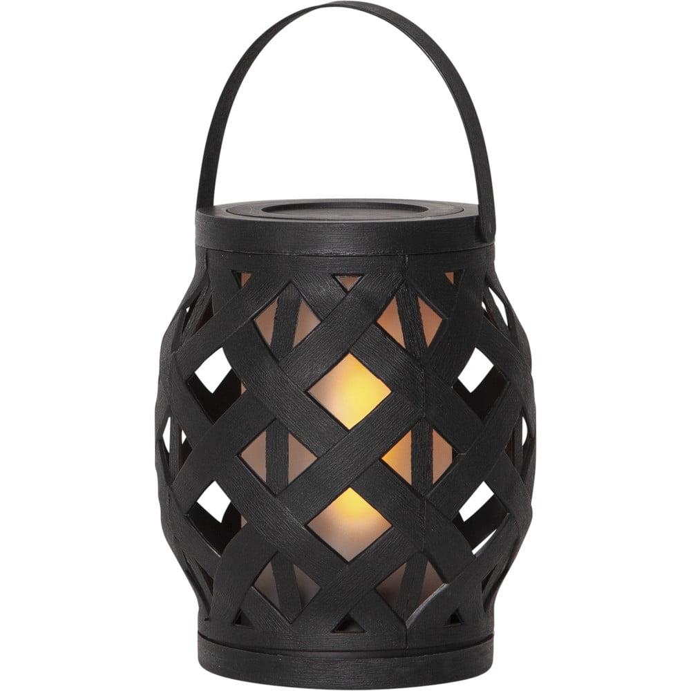 Černá lucerna Best Season Flame Lantern, 14 x 16 cm