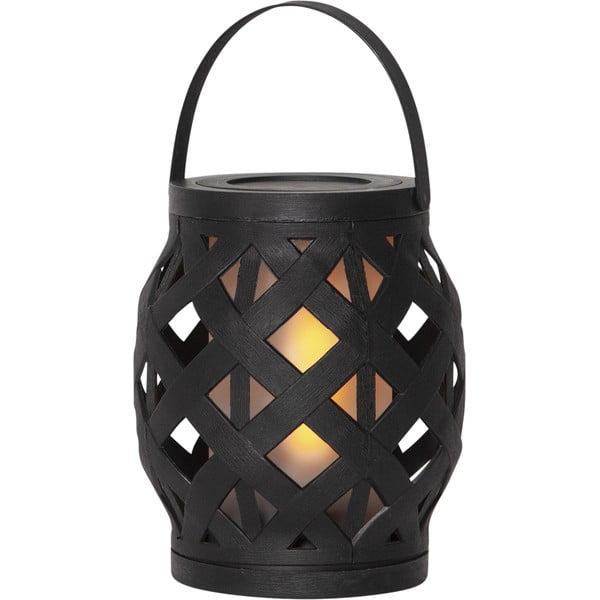 Felinar Best Season Flame Lantern, 14 x 16 cm, negru