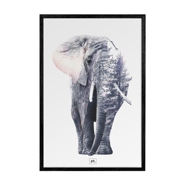 Černý fotorámeček PT LIVING Ritzy, 52 x 72 cm