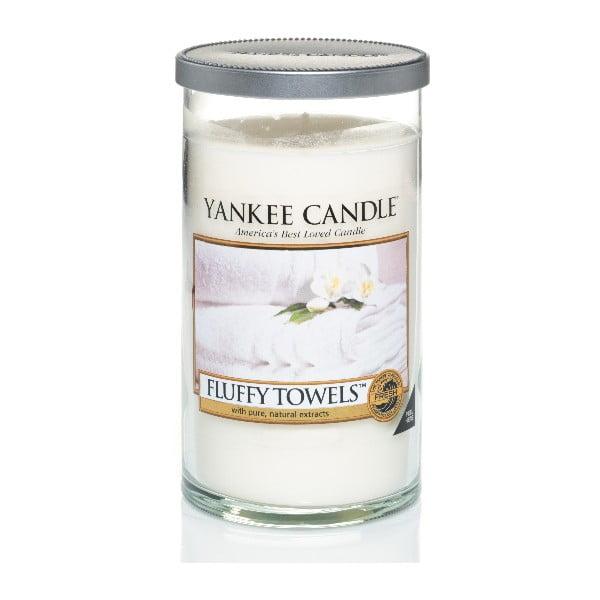 Vonná svíčka Yankee Candle, Nadýchané osušky, sřední