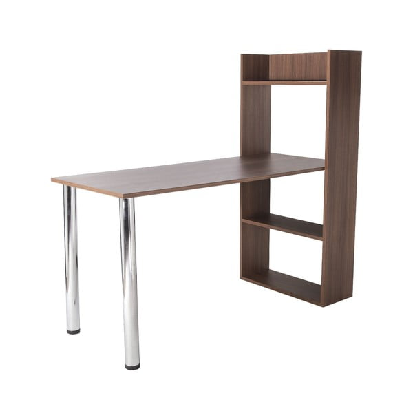 Pracovní stůl Flamingo Walnut