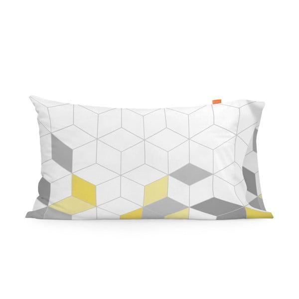 Zestaw 2 bawełnianych poszewek na poduszki Blanc Symmetry, 50x80 cm