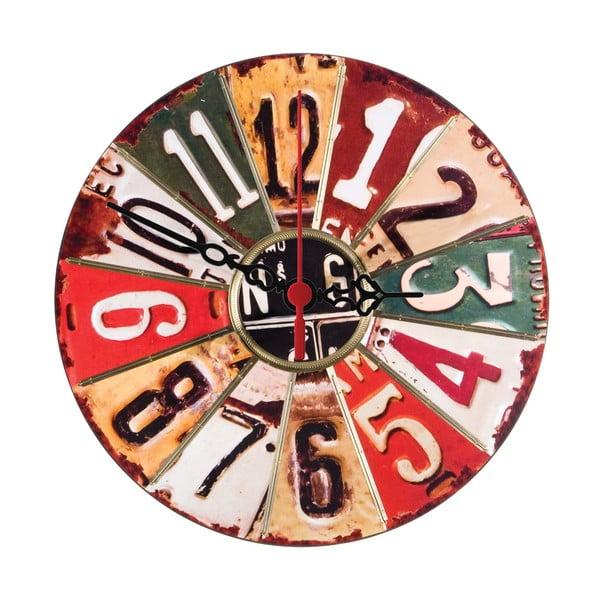 Nástěnné hodiny Numbered, 30 cm