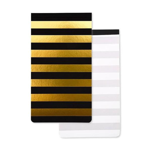 Caiet notițe GO Stationery Bee, negru galben