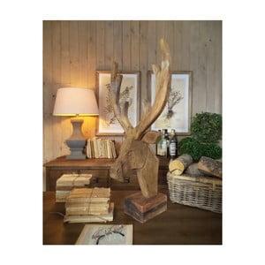 Dekorace z mangového dřeva Orchidea Milano Deer, výška 76 cm