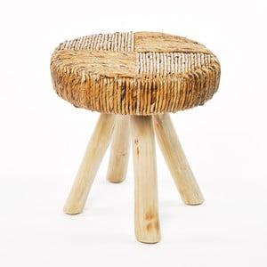 Hnědá stolička Simla Natural